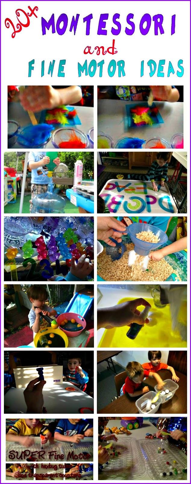 20 montessori and fine motor ideas epic childhood for Montessori fine motor skills