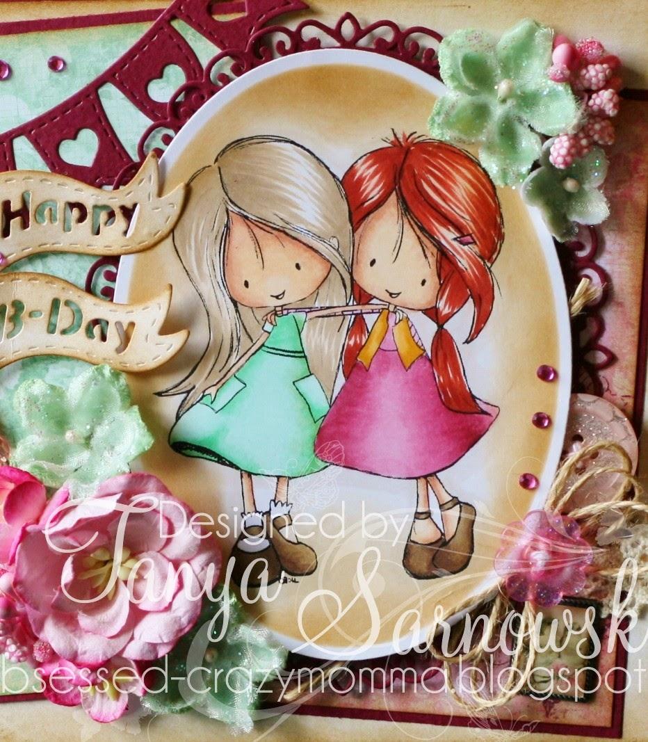 Obsessed Crazy Momma Happy Birthday My Fabulous Friend Cheri