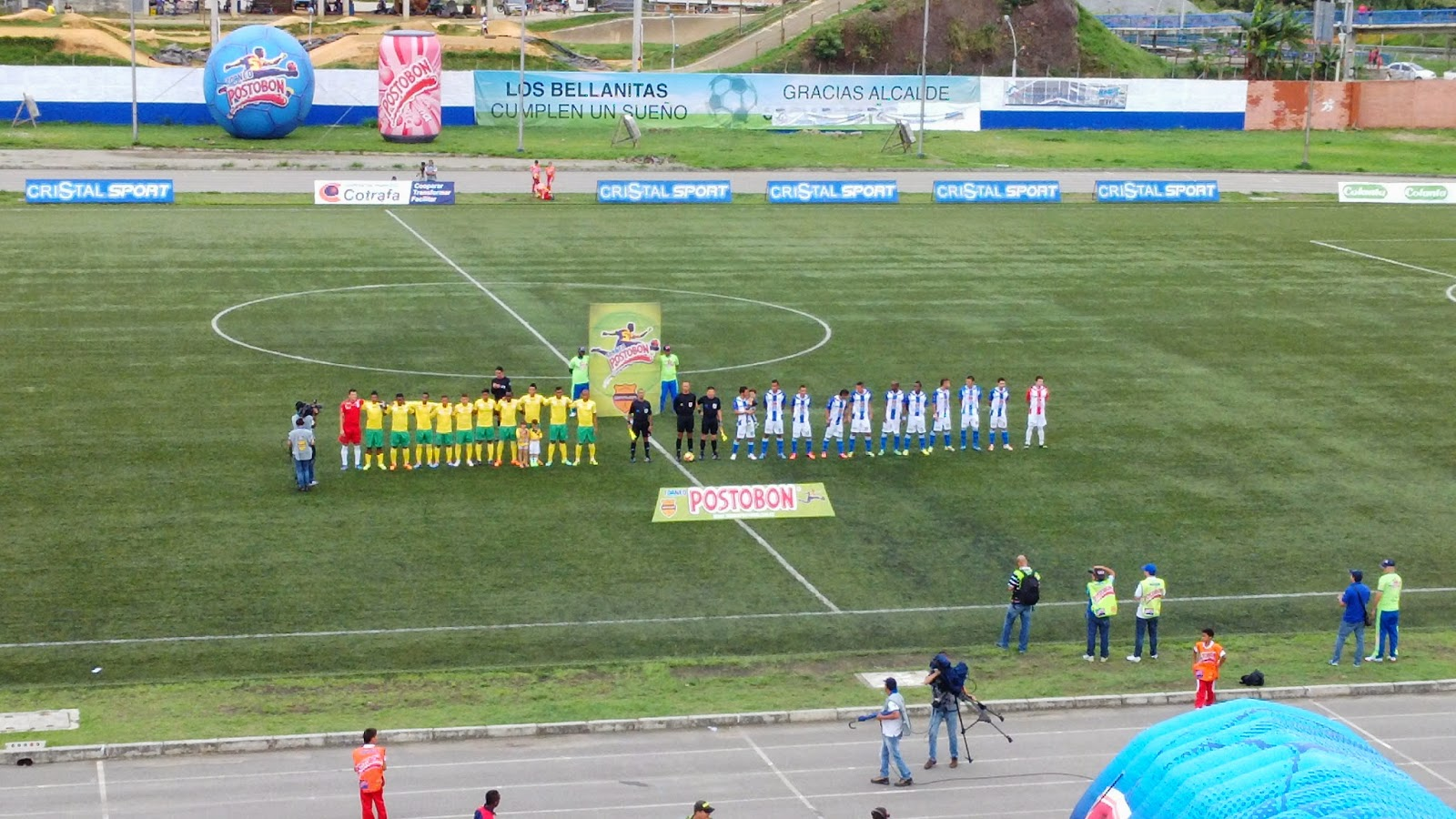 Rionegro 2 vs. Real Cartagena 1