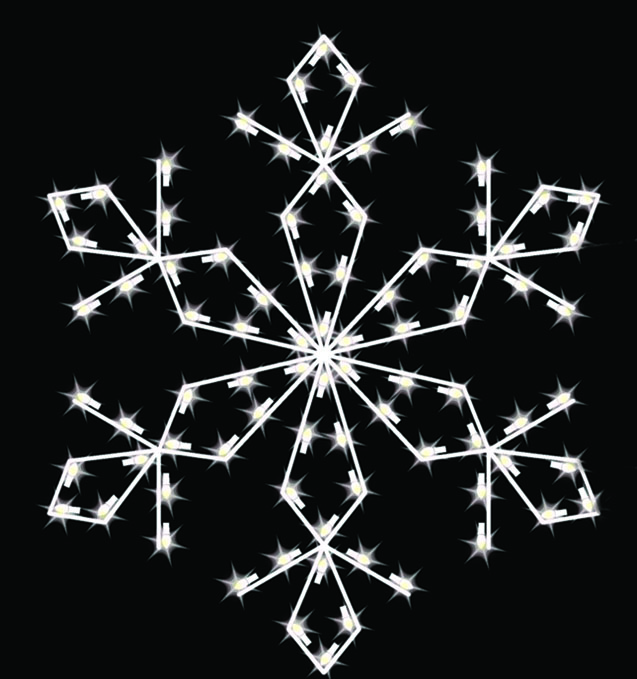 Crystal Valley Decorating, Inc: Commercial Snowflake