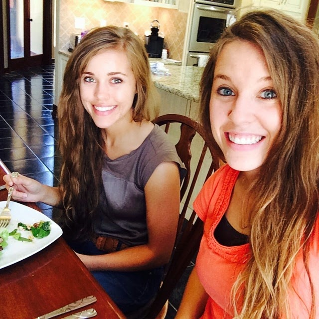 Jessa Duggar and Jill Dillard