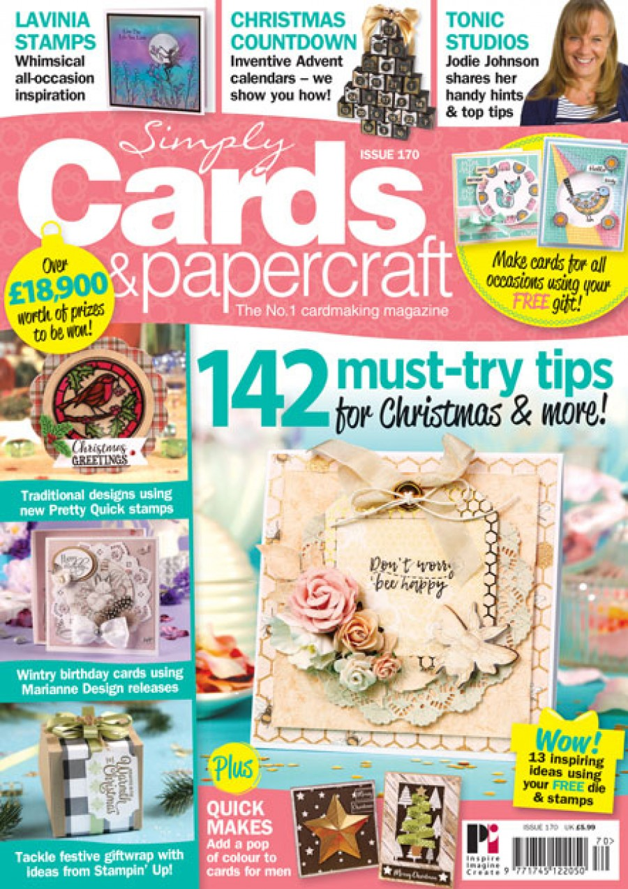 Simply cards & Papercraft - Issue 170