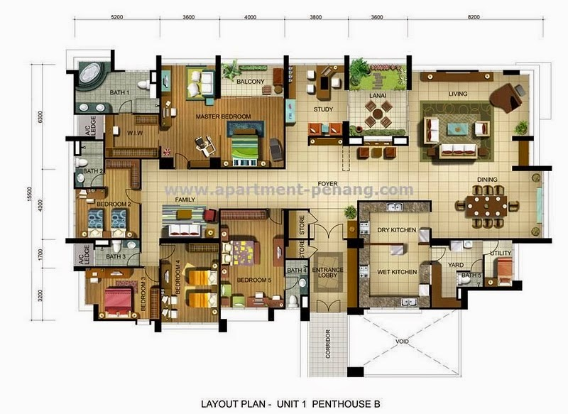 Fettes Residences Apartment Penang Com
