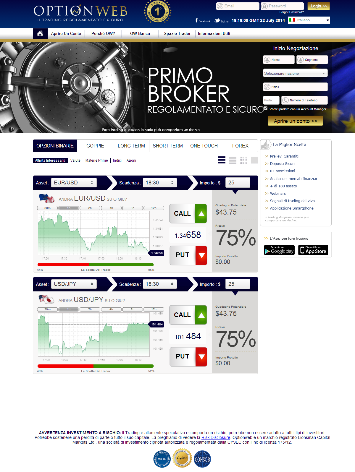 Forex prime brokers list