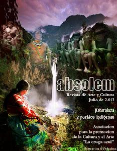 """Mi primera publicación en la revista literaria """"Absolem"""""""
