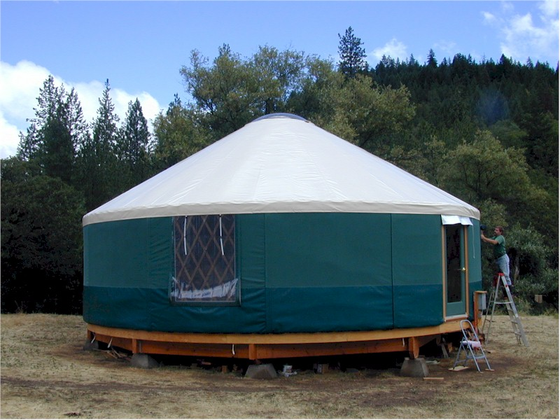 how to make a yurt tent