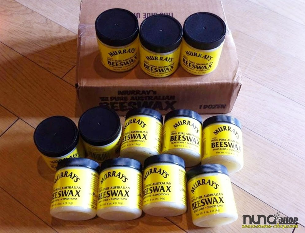 Murray's Beeswax Daya Rekat Maksimal Kilau Rendah Aroma Netral (wangi)