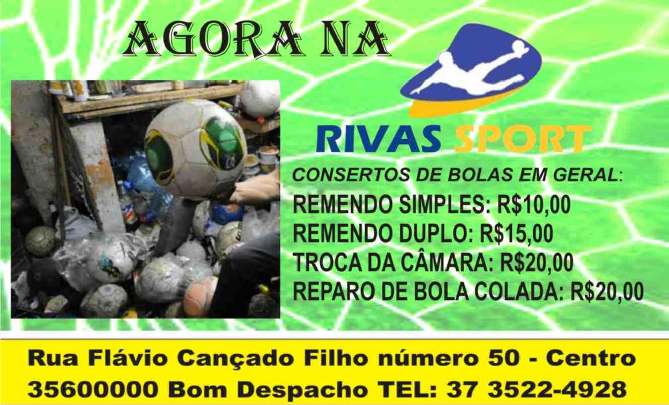 Rivas sport consertos de bolas