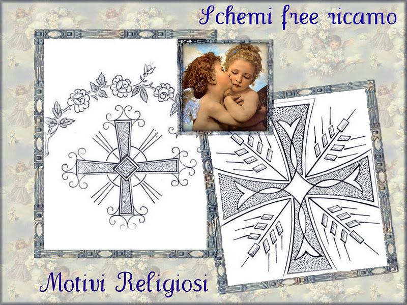 Schemi Free Ricamo  Motivi Religiosi