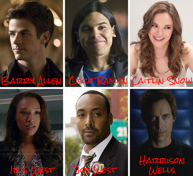 Elenco the flash