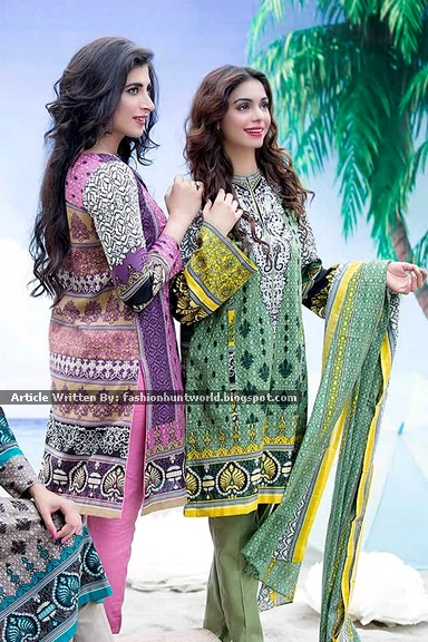 Ittehad Eid-Ul-Adha Printed Dresses Collection 2015