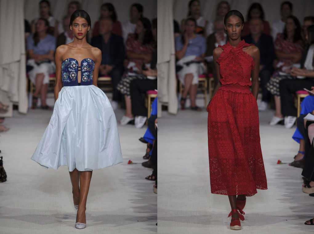 Eniwhere Fashion - Oscar de la Renta - Spring/Summer 2016