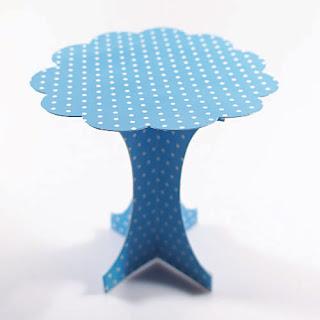Pin base exhibidor de acrilico para conos y bolsas conicas - Bases para cupcakes ...