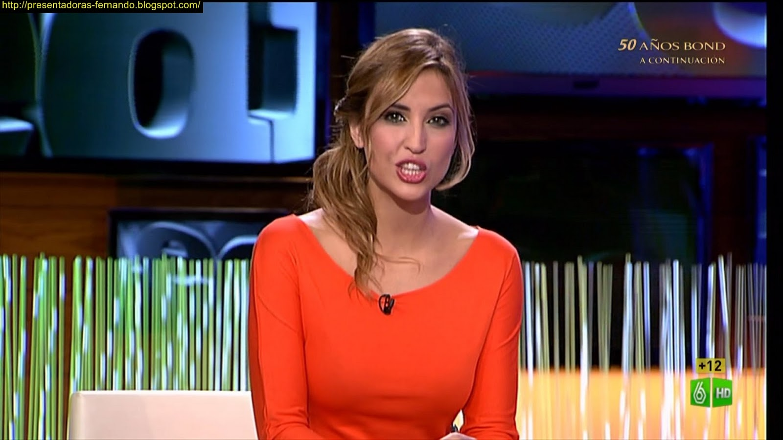 Sandra Sabates El Intermedio 6-11-2012
