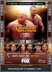 Capa UFC Fight Night Lawler vs Brown Torrent 26/07/2014 Baixaki Download