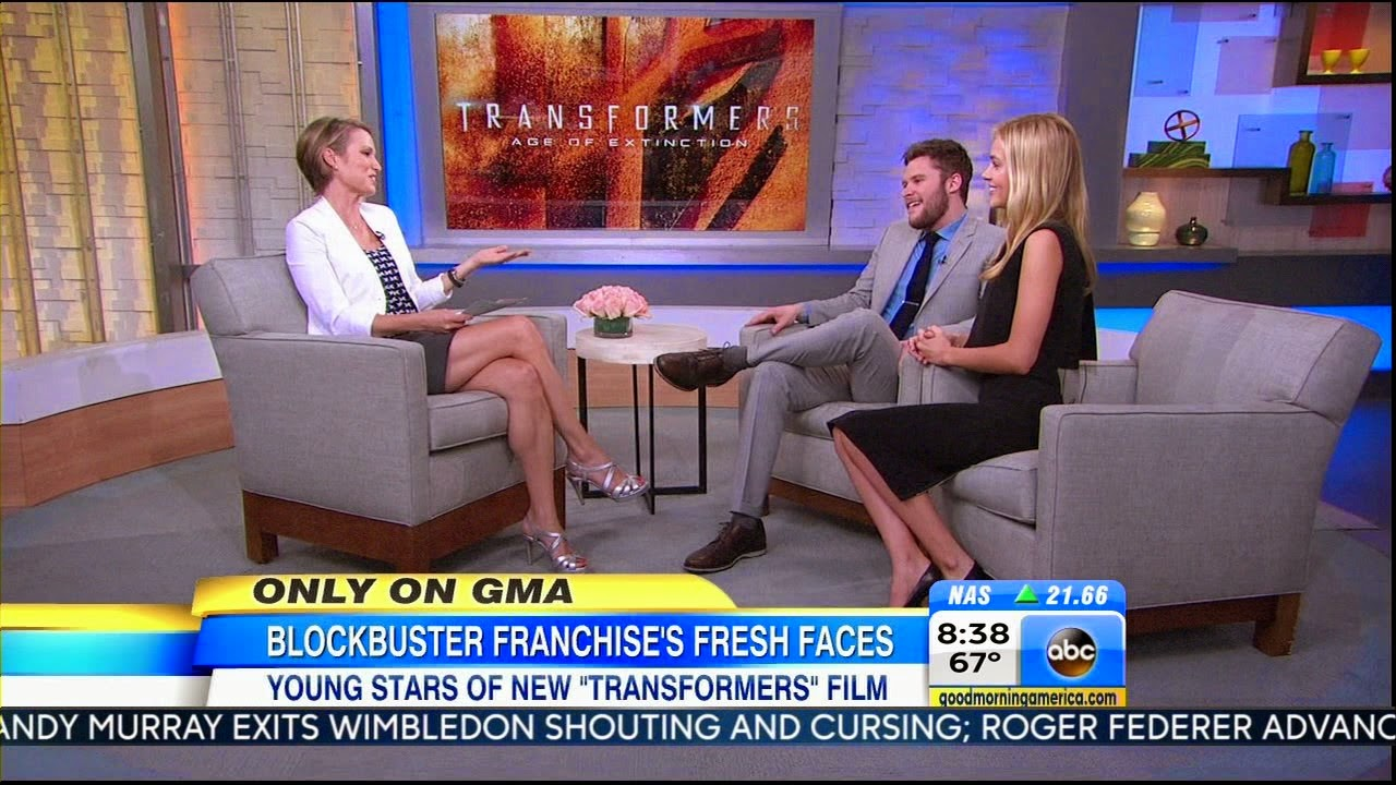 amy robach legs high heels GMA