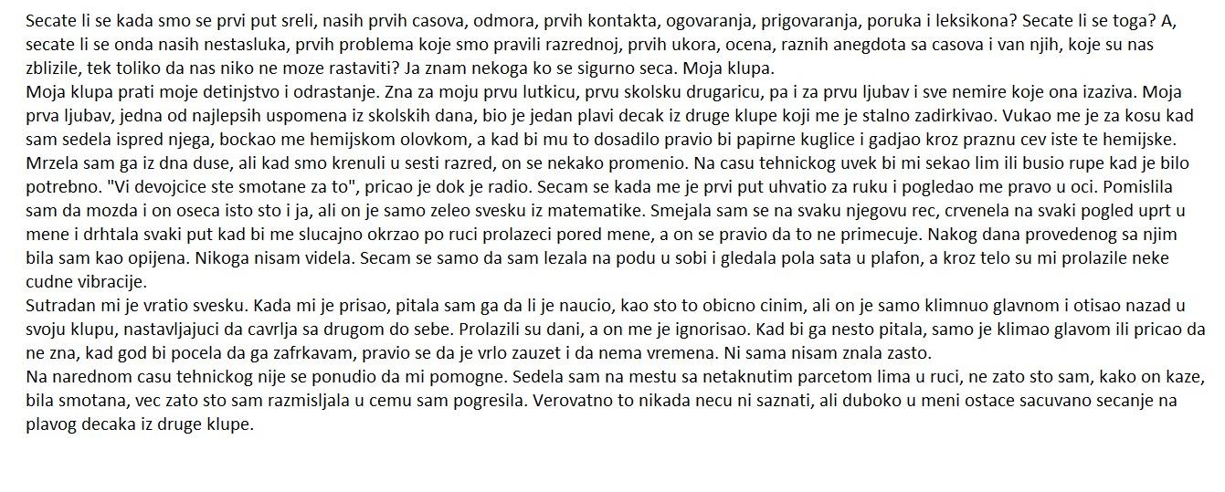Sastav Iz Srpskog Jezika