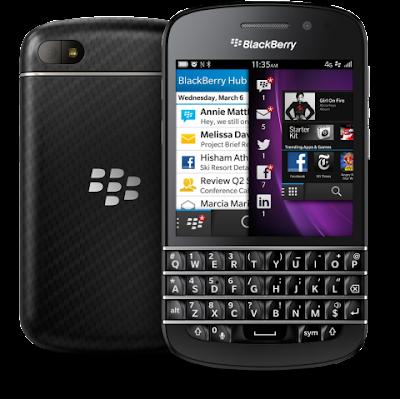 Spesifikasi dan Harga Blackberry Q10 Terbaru Lengkap
