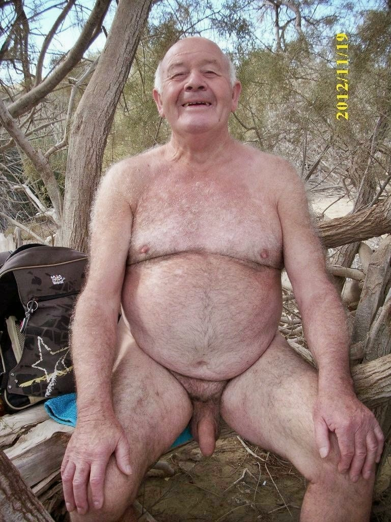 naked old men - hairy grandpa - mature old men naked - uncut naked men