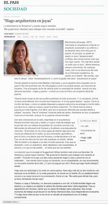 EL PAÍS entrevista a Rita Feriche