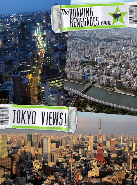 Amazing Tokyo views...This crazy city from different angles! http://www.theroamingrenegades.com/2015/11/amazing-TOKYO-views.html