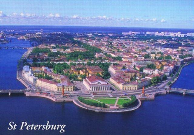 Russia ( ver tambem Asia ) RUS-StPetersburg-postcard1