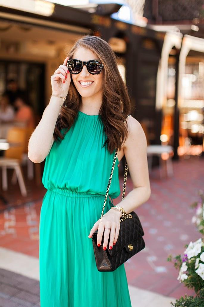 Forever21 black oversized sunglasses