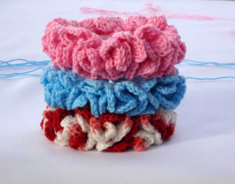 Crochet Hair Scrunchie : Crochet Hair Scrunchies Patterns
