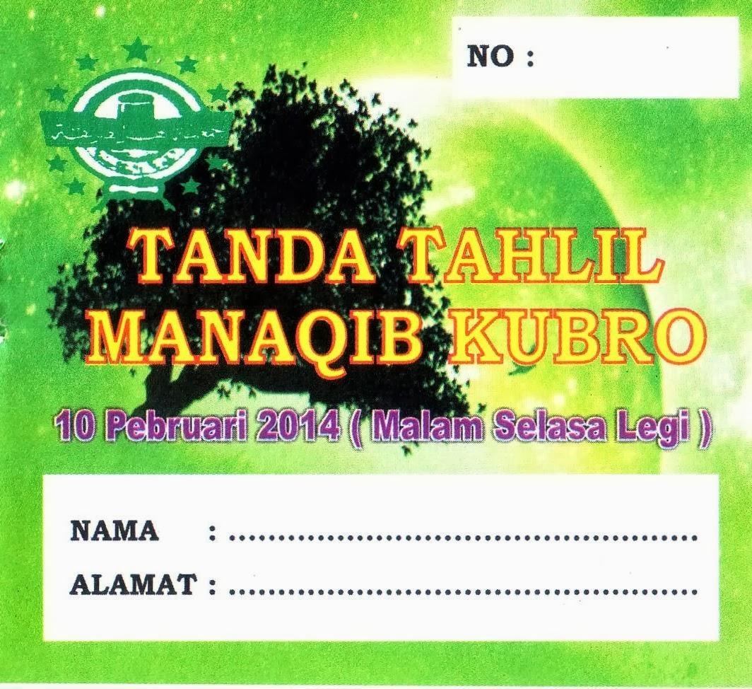 KARTU TANDA TAHLIL KIRI