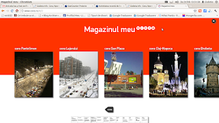 promotii cora - noul site cora.ro