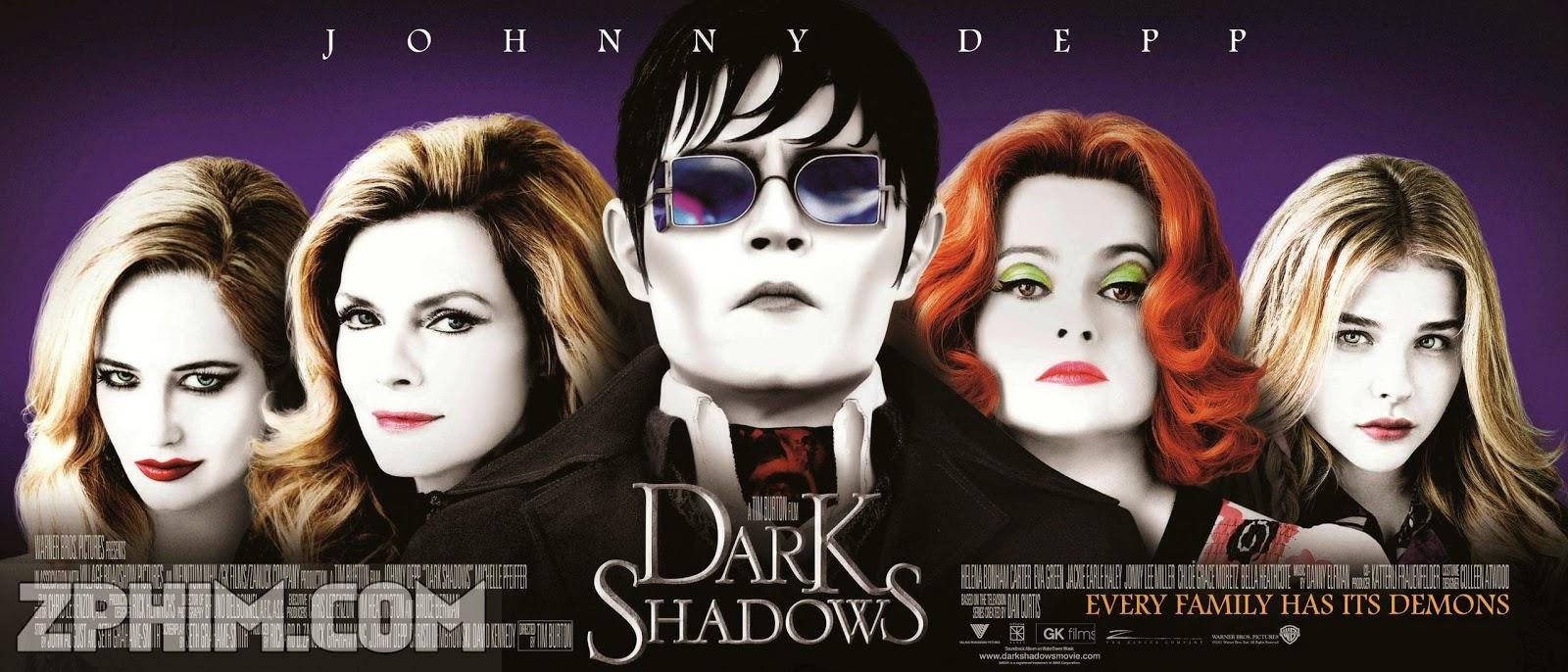 Ảnh trong phim Lời Nguyền Bóng Đêm - Dark Shadows 1