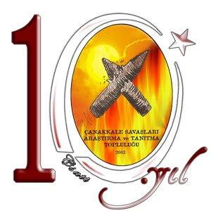 ÇSATT 10. yıl Logosu