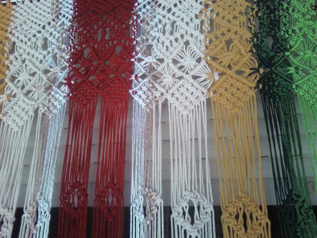 Tapices de alto lizo cortinas macrame - Tapices de macrame ...