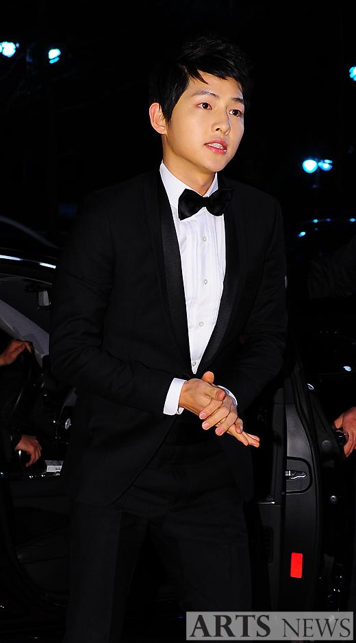 Song Joongki 2012 KBS Drama Awards