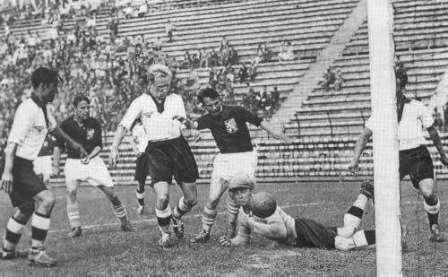 3. 0' 26' (Ernst Lehner) - Germany V Austria (1934)