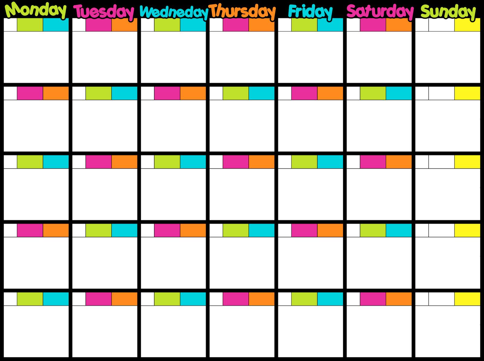Weight Loss Calendar Countdown | Calendar Template 2016