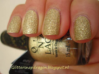 OPI Liquid Sand Honey Rider Bond Girls Collection