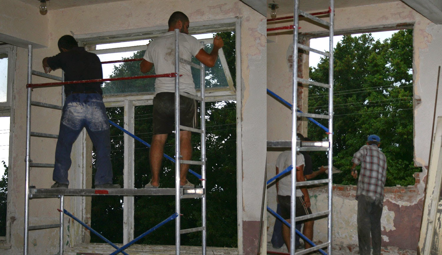 Getting rid of the old window