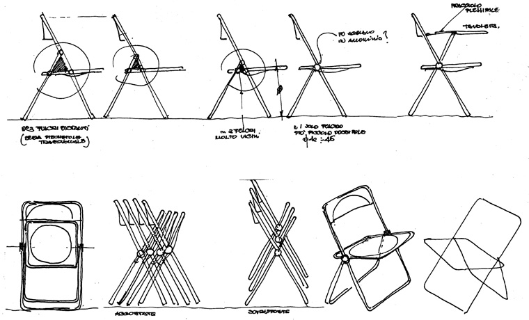 Febrero la silla plia the deco soul - Bisagras para mesas plegables ...
