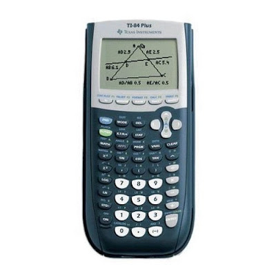 TI 84 Graphing Calculator Display