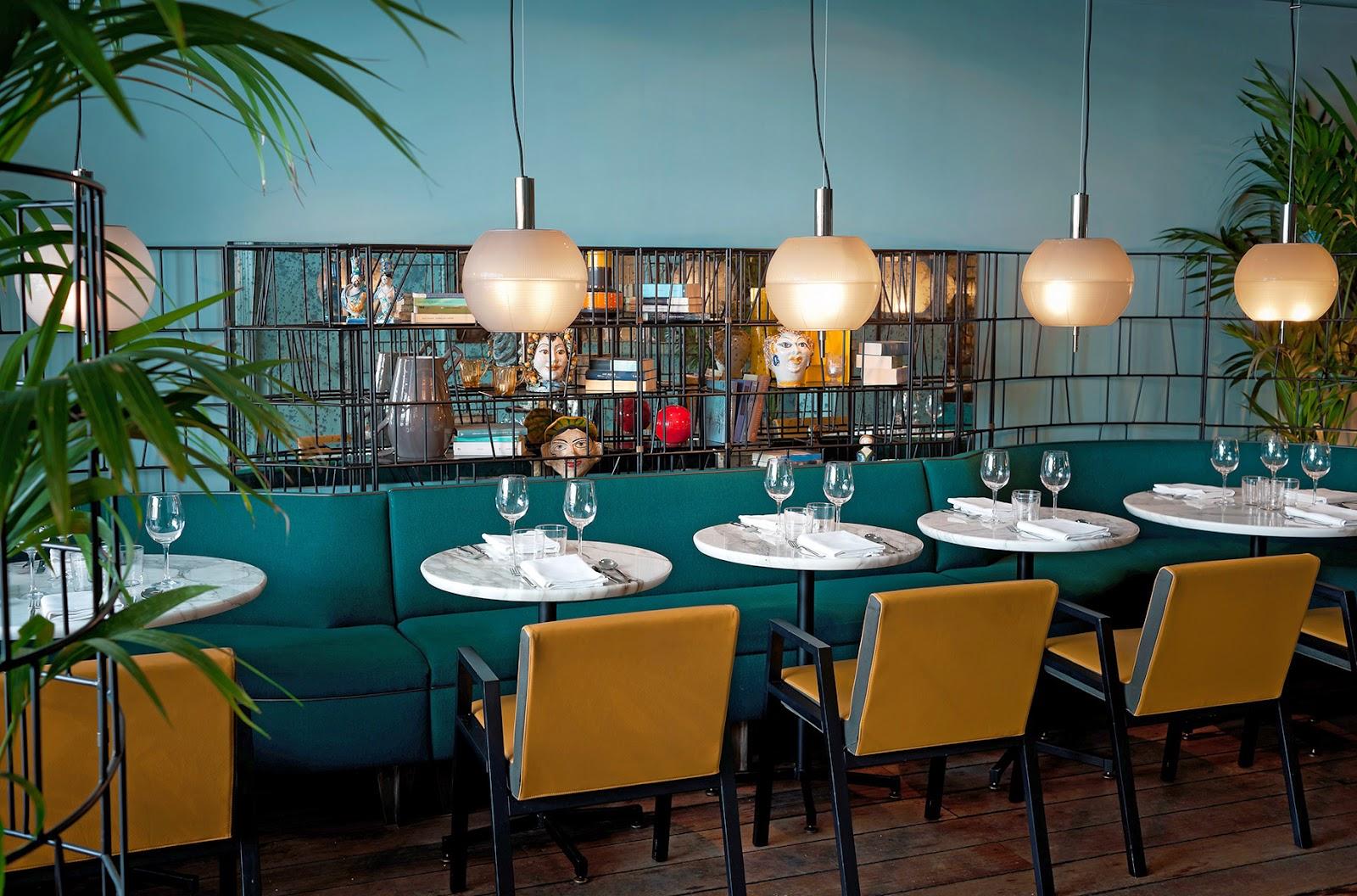 Dimore Studio überzeugt mit gekonntem Design und Einrichten in Pariser Restaurant