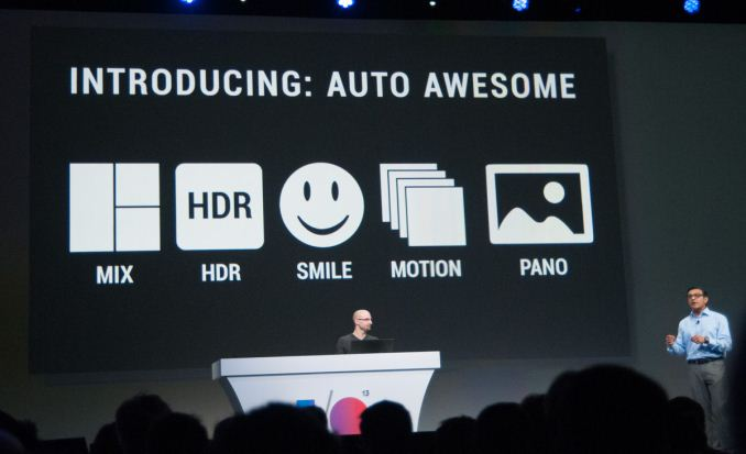 New Google+ auto enhancement I/O keynote