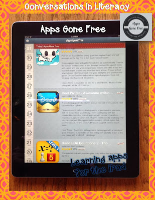 learning apps for ipads- apps gone free