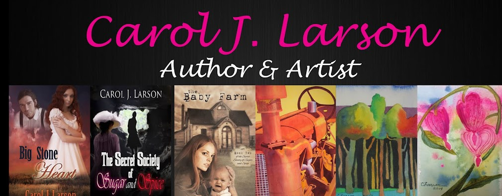 Carol J.  Larson - Author and Artist