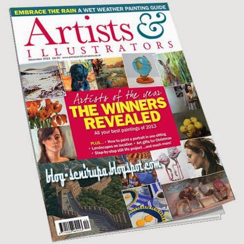 Artists and Illustrator Magazine December 2013