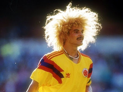 Penteados mais estranhos do futebol