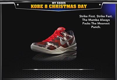 Kobe 8 System Christmas