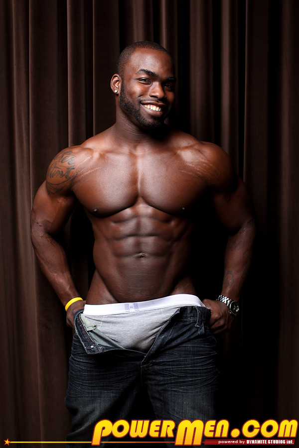 Black Hung Gay Bodybuilders