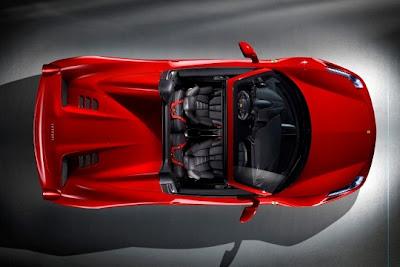 2012 Ferrari 458 Italia Spyder