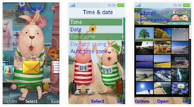 「監獄兔」SonyEricsson手機主題for Aino含媒體﹝240x432﹞
